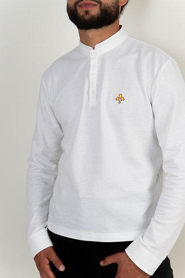 Polo ♂  Casual - Blanc