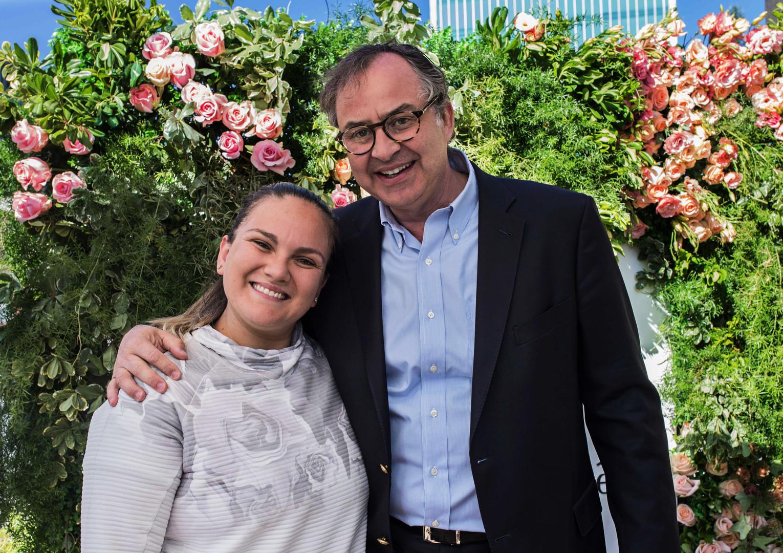 Ma Fernanda Valdes y Michael Riebensahm