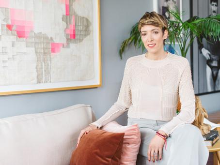 Elisa Ibañez, agente cultural y fundadora de Antenna