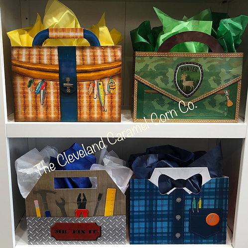 MASCULINE GIFT BAG ( large )