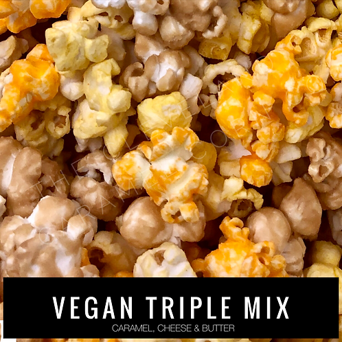 VEGAN TRIPLE MIX (caramel, cheese and butter)