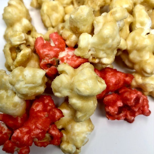 STRAWBERRY SHORTCAKE CARAMEL CORN