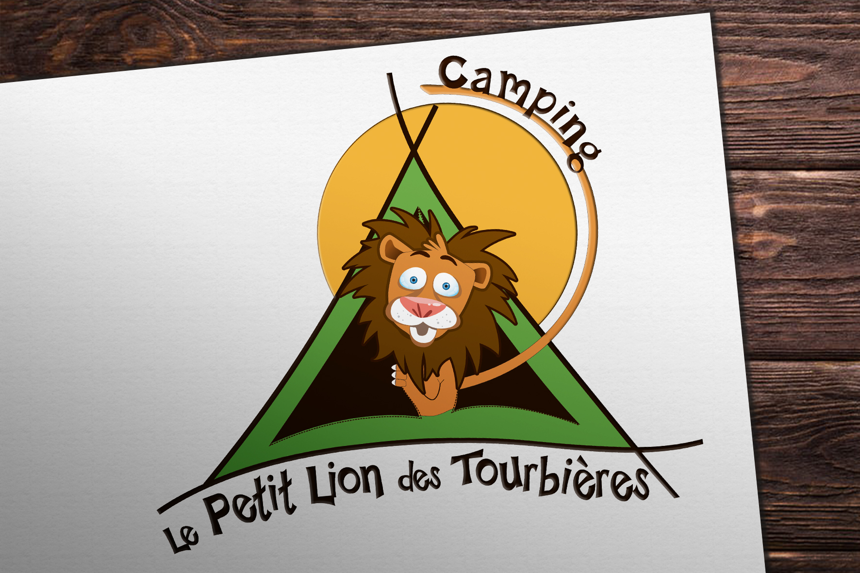 Logo Camping Lion