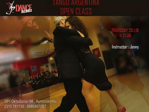 Tango Argentina Open Class | DANCEmania Studio