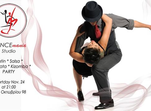 Non Stop Latin - Salsa - Bachata Party | DANCEmania Studio