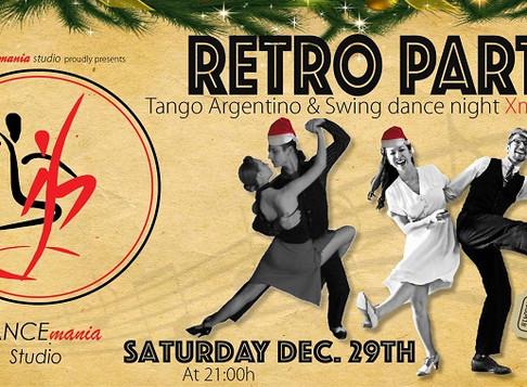 Retro Party | Xmas Edition @DANCEmania Studio