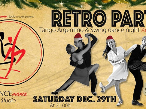 Retro Party | Xmas Edition @DANCEmania Studio