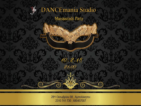 Masquerade Party | DANCEmania Studio
