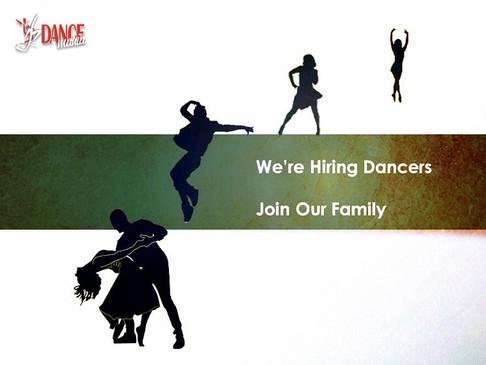 We are hiring | DANCEmania Studio