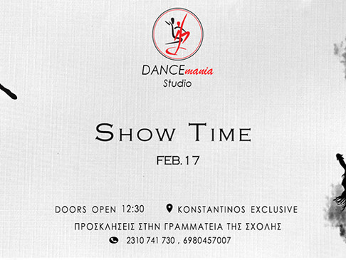 Show Time | DANCEmania Studio