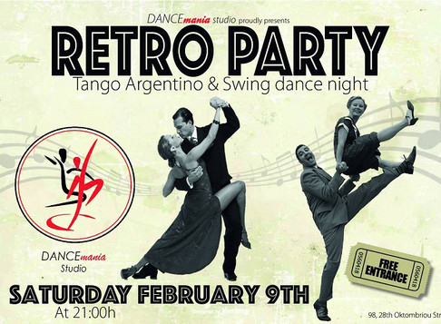 Retro Party | DANCEmania Studio