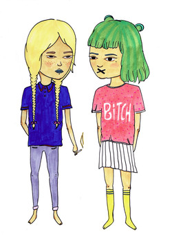 smallGirls Being Girls