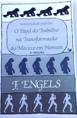 Sobre o papel do trabalho na transformação do macaco em homem, Engels