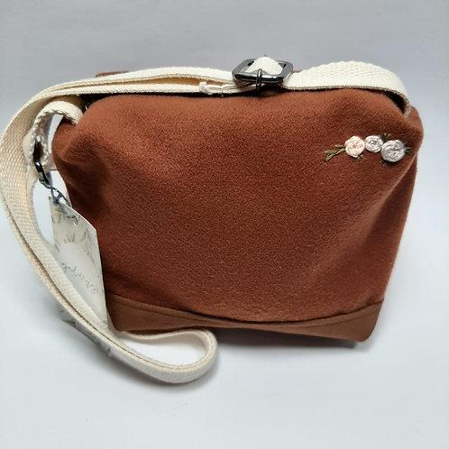 Bolsa de lã batida