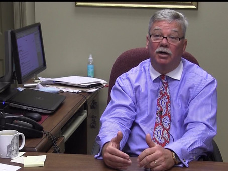 City community development director, Bunky Partridge, retires