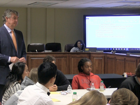Superintendent meets with students to discuss teen issues