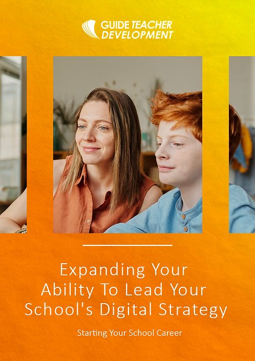 Expanding Your Ability to Lead Your School's Digital Strategy