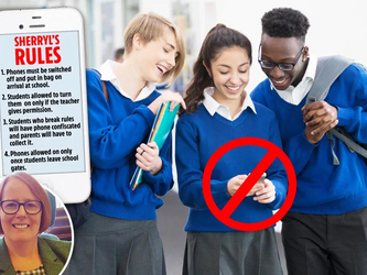 NO PHONE ZONE Banning mobiles transformed my school & rescued kids glued to their phones