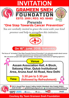 One Step towards Cancer Prevention