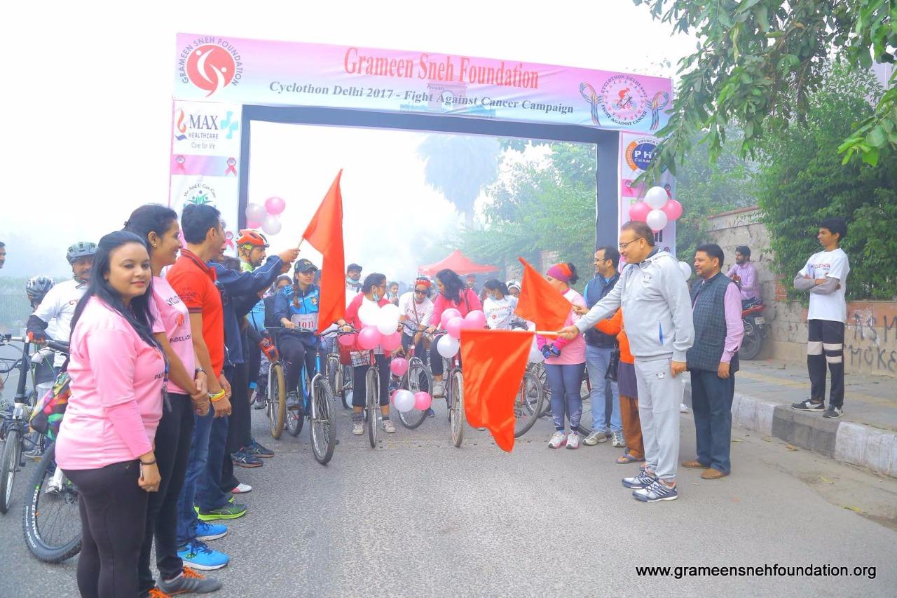 Cyclothon Delhi 2017