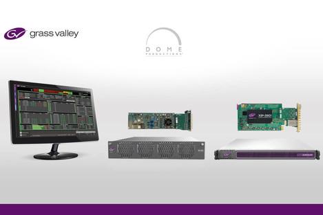 Dome Productions: IP habilitado impulsiona ao futuro com a Grass Valley