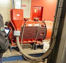 Test av høyspentmotoer, generatorer
