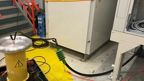 Sluttkontrol av høyspent bryteranlegg med Power frequency withstand test iht. IEC 62271-200
