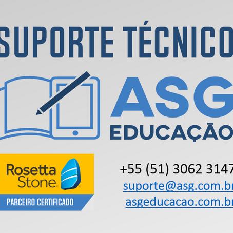 Suporte ASG Educação - Limpando cache e cookies do seu navegador