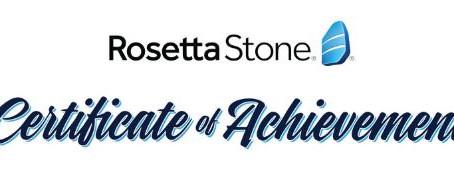 Rosetta Stone - Habilidades do Quadro Europeu Comum de Referência paraIdiomas (CEFR)