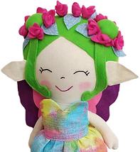 Faça a Boneca de Pano Fada Elfo da Primavera da Fluflu - Método Exclusivo com Moldes e Passo a Passo