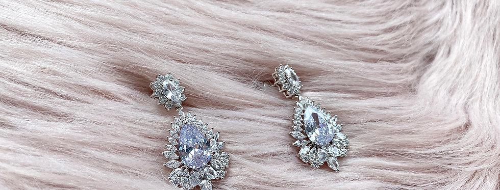Grand Pear drop Earrings