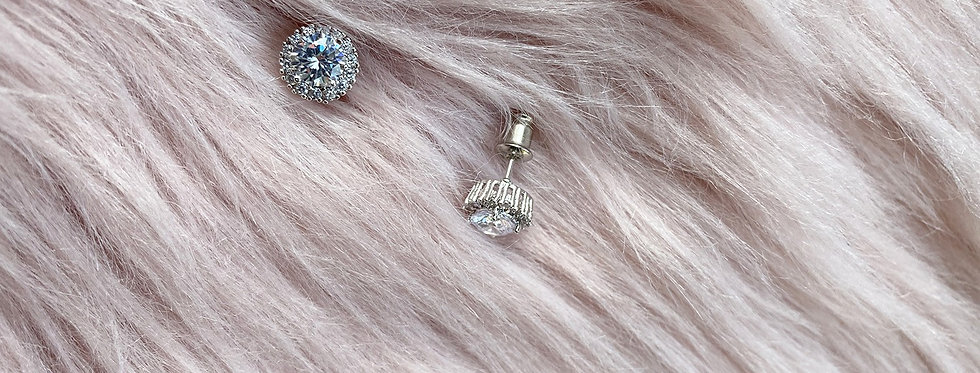 Princess Studs piereced earrings