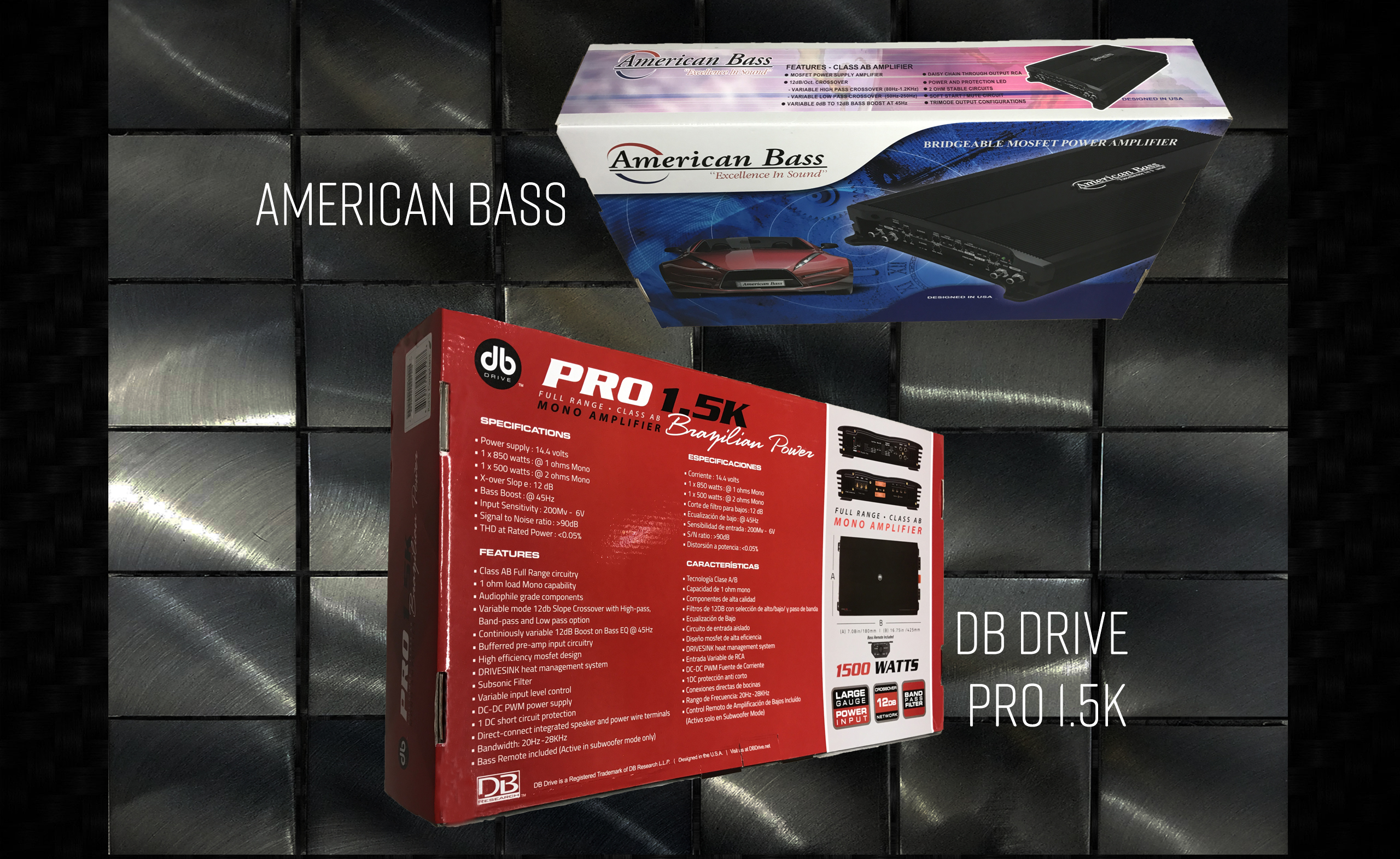 American Base & db Drive Amplifiers