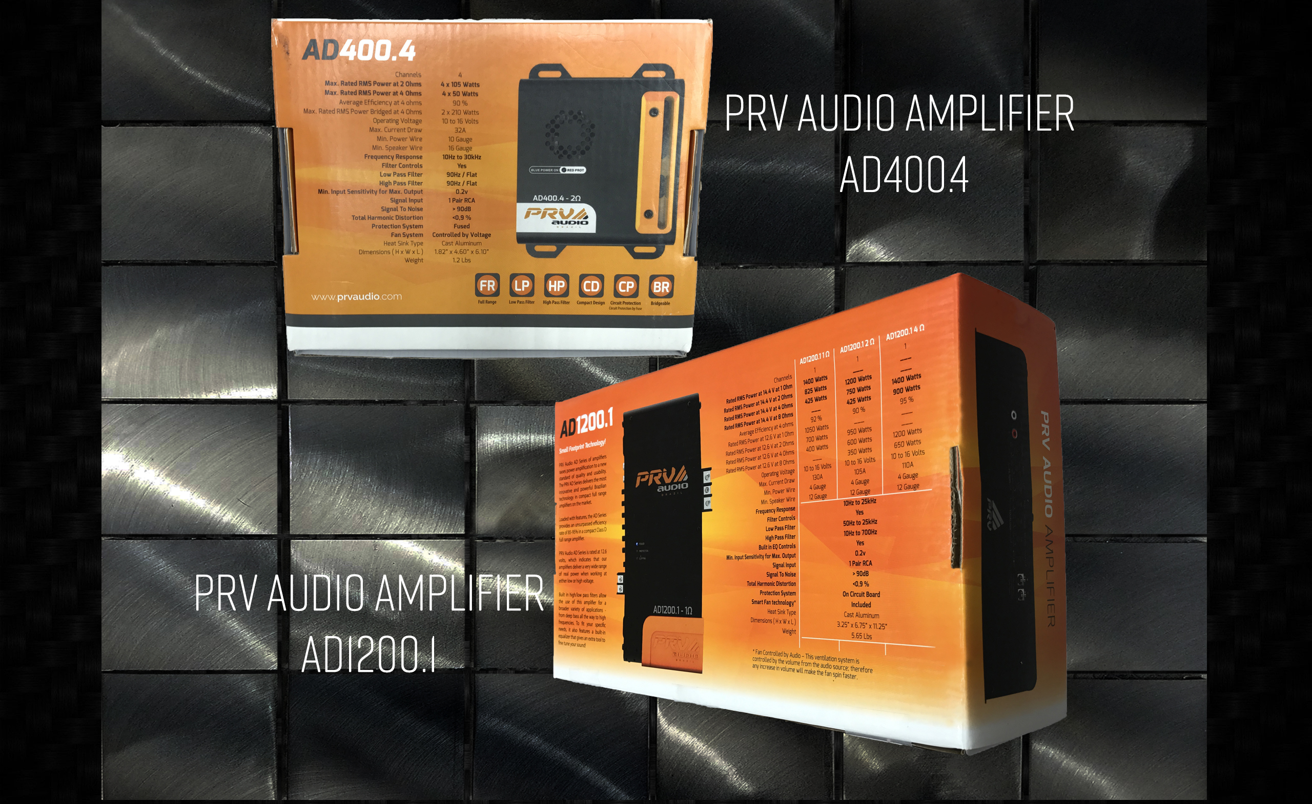 PRV audio Amplificadores