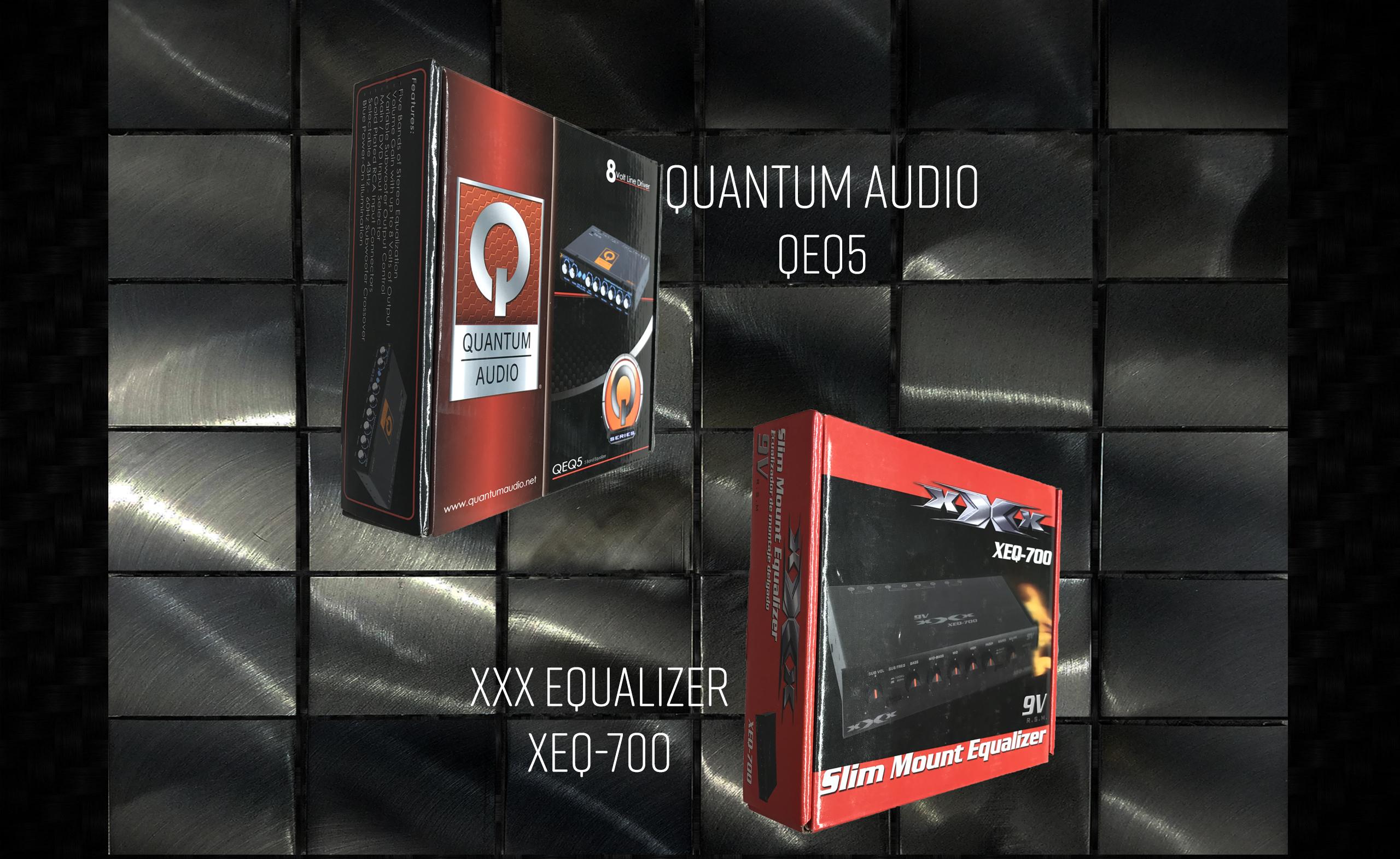 Quantum Audio & XXX Equalizers