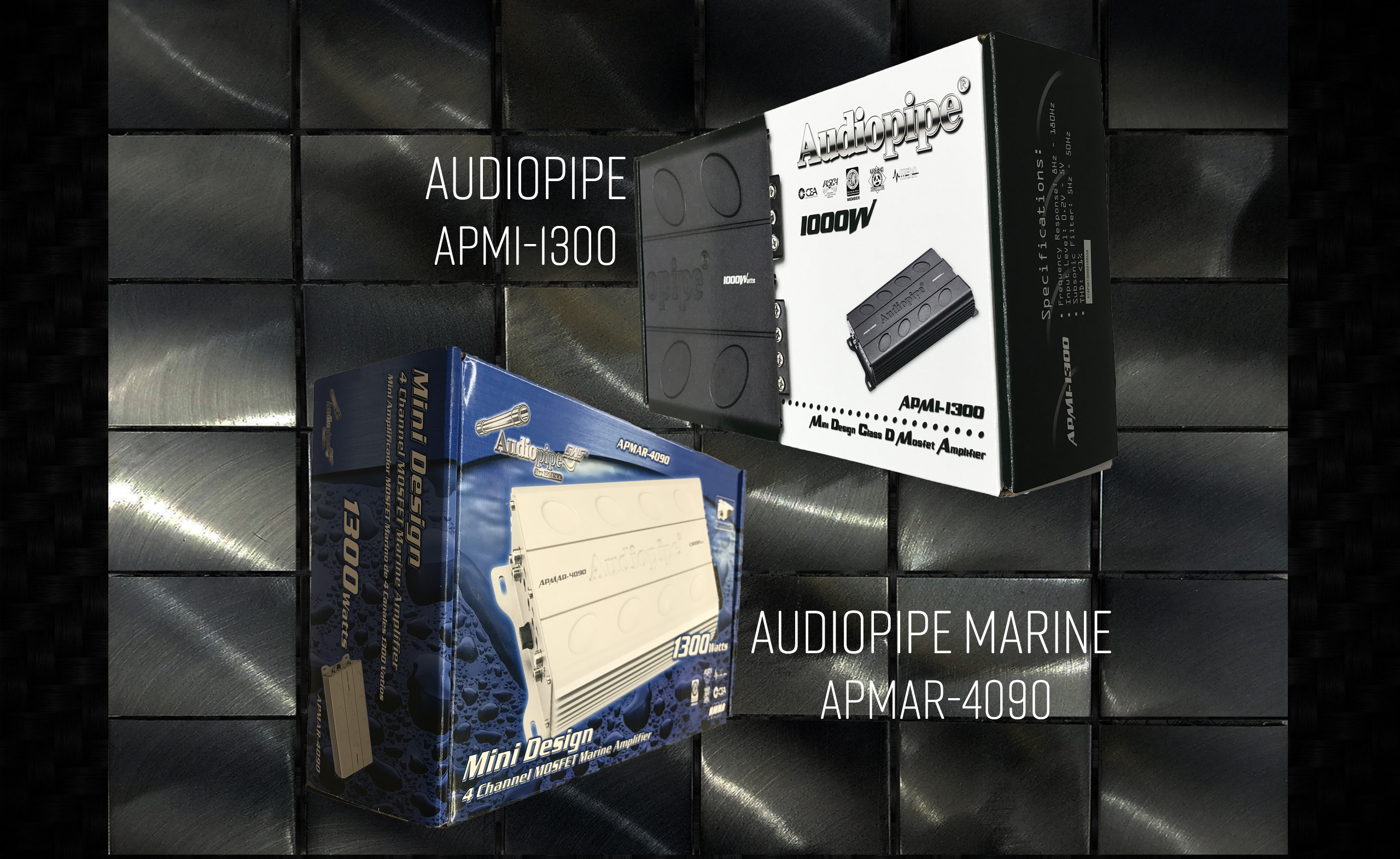 Audiopipe Amplifier