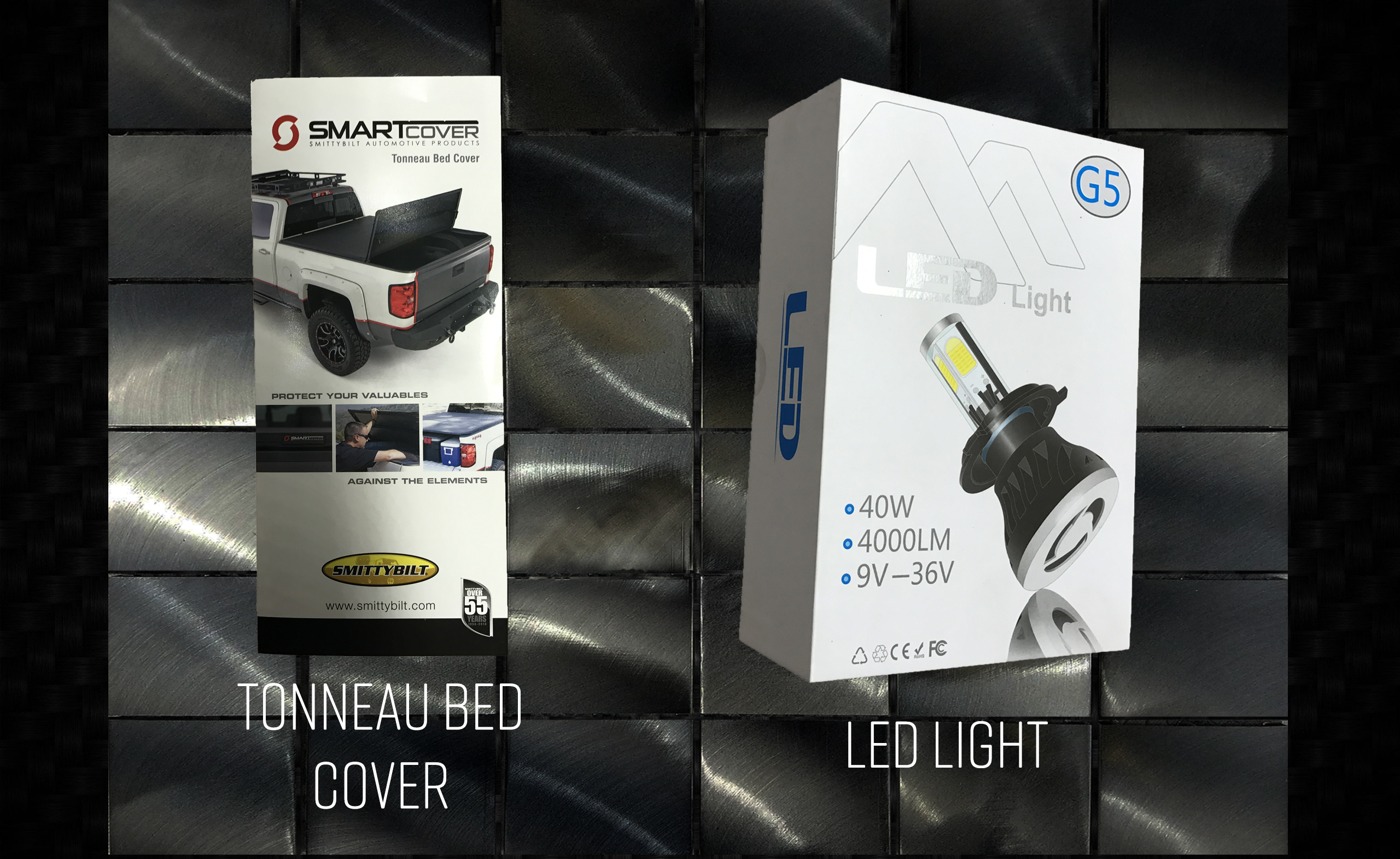 Tonneau Bed Cover & LED's