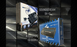 SoundStream & Audiopipe Equalizer