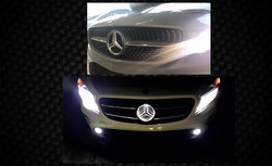 Mercedes logo illumination