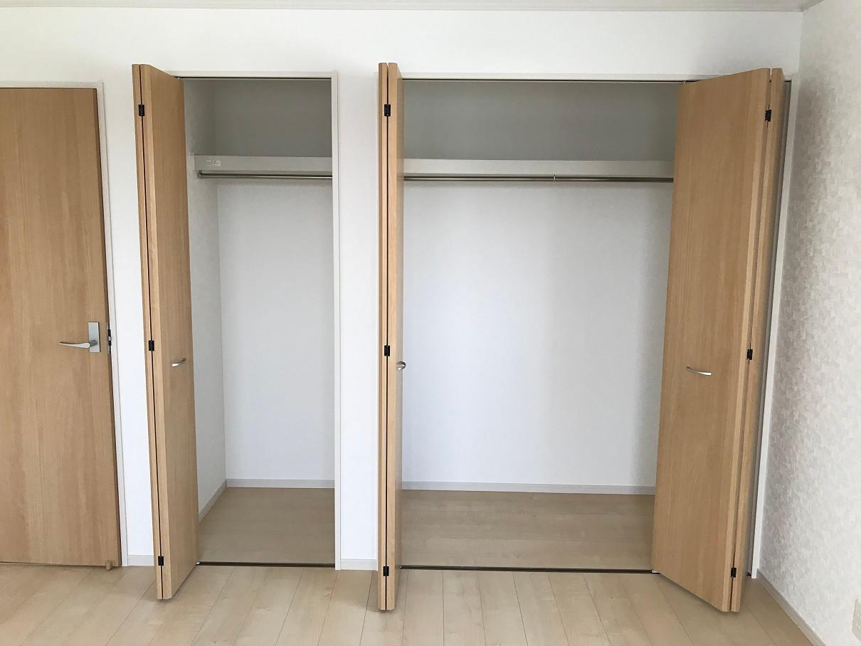 2階寝室 収納