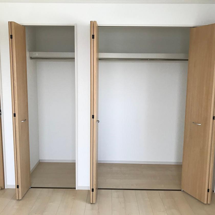 2階寝室の収納