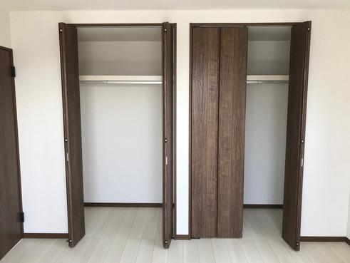 2階 主寝室 収納