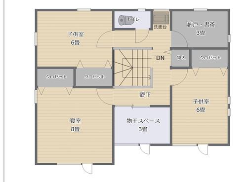 間取図2階