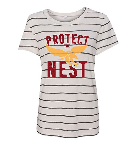 Protect the Nest Womens Patterned Tee