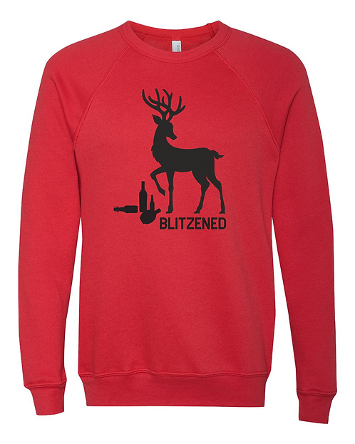 HOLIDAY SPECIAL - Blitzened Crew Sweatshirt