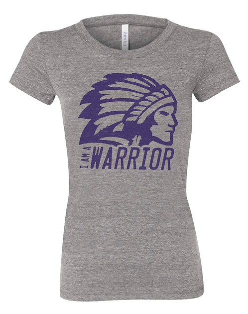 Womens Vintage Warrior Tee