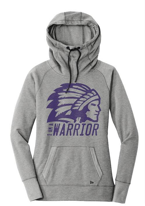Women's Warrior Cowl Neck Hoodie
