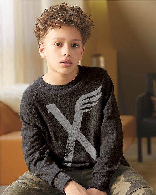 Kids Winged X Sweatshirt