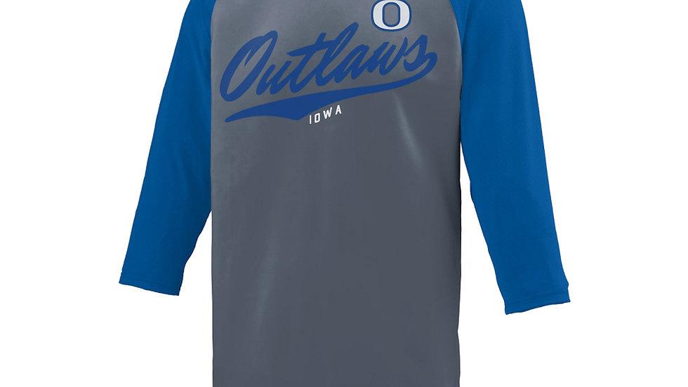 Youth Outlaws Baseball Tee