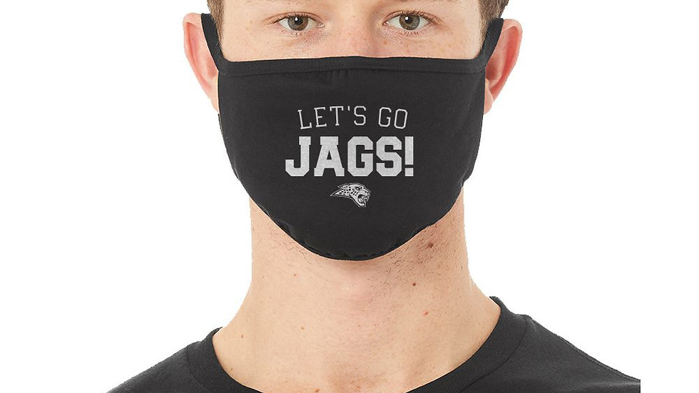 LET'S GO JAGS FaceMask